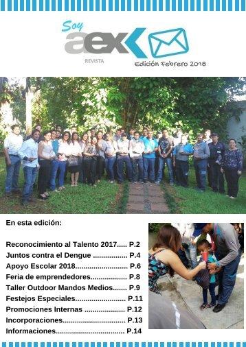 Revista Aex_Febrero 2018
