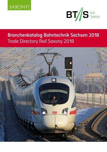 Branchenkatalog Bahntechnik Sachsen 2018