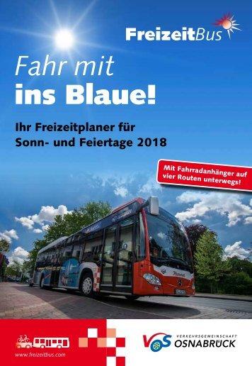 FreizeitBus Broschüre 2018