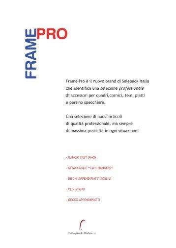 CATALOGO FRAME-PRO - Accessori Quadri e Cornici -