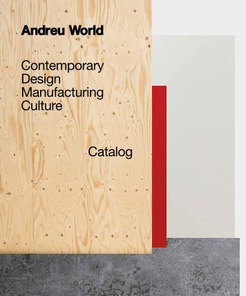 ANDREU WORLD_GENERAL CATALOGUS NEW 2017