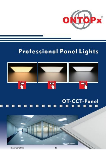 ONTOPx CCT LED Panel Lighting