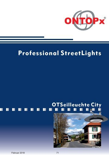 ONTOPx Seilleuchte City Lighting