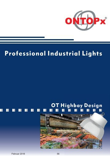 ONTOPx Design Highbay Lighting