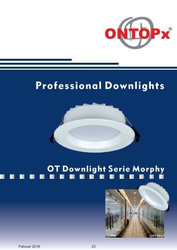 ONTOPx LED Downlight Morphy
