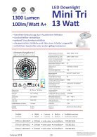 ONTOPx LED Downlight TRIColor - Page 3