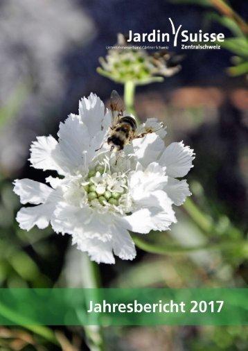 Jahresbericht JardinSuisse Zentralschweiz 2017
