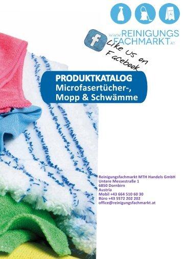 Microfasertücher-, Mopp & Schwämme