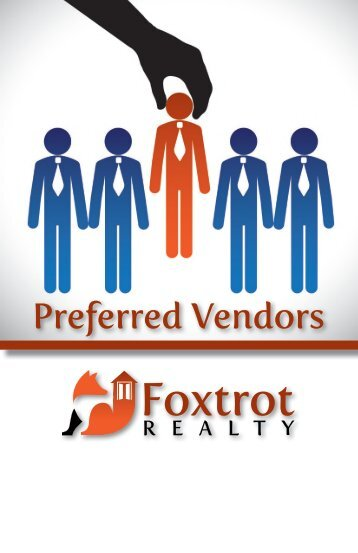 Preferred Vendor Booklet