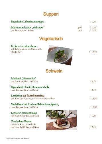Sonntagskarte Goldener Hirsch Bad Berneck