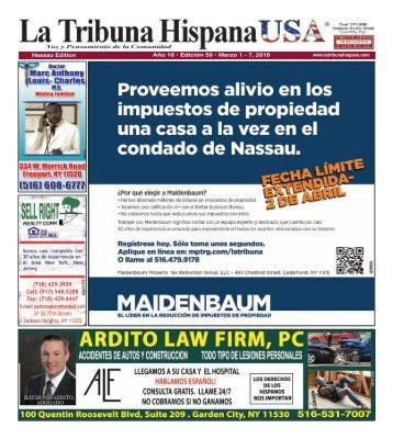 Nassau Ed50 year 10