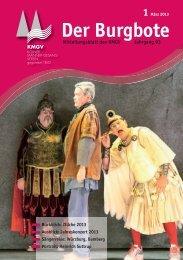 Der Burgbote 2013 (Jahrgang 93)