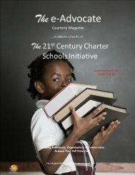 The 21st Century Charter Schools Initiative