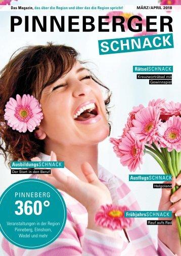 PINNEBERGER Schnack März April 2018