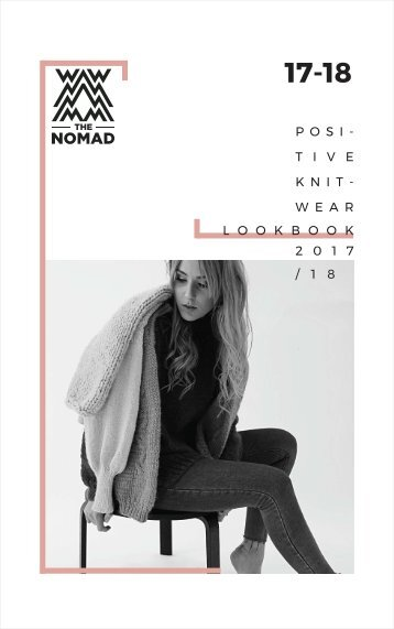 Positive knitwear by The Nomad | Lookbook 17-18
