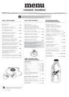 Menu colazione / snídaně - Page 2