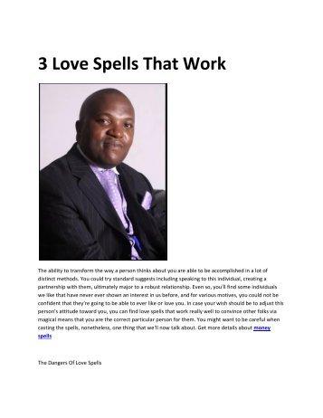 6 love spells