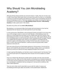 9. Why Should You Join Microblading Academy__