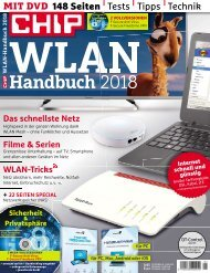 Chip Magazin Sonderheft WLAN Handbuch 2018