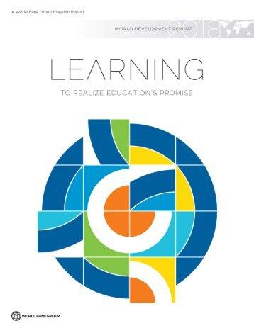 Brasil só deve dominar Leitura em 260 anos, aponta estudo do Banco Mundial Relatorio Banco Mundial _Learning