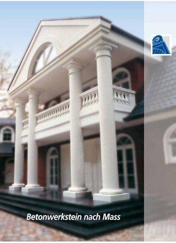 TRAX Bauelemente - Betonwerkstein nach Maß