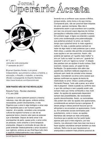 JORNAL ACRATA Nº 7 ROBERTO FREIRE (1)