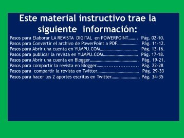 Instrucciones para la REVISTA DIGITAL Uso de las TICs UNESR marzo 2018