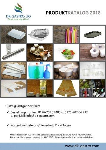 2018 DK Gastro Produktkatalog