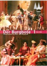 Der Burgbote 2008 (Jahrgang 88)