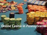 Online Casino in Pennsylvania