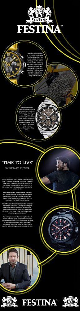 Festina Watches Infographic