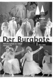 Der Burgbote 2005 (Jahrgang 85)
