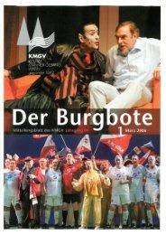 Der Burgbote 2006 (Jahrgang 86)