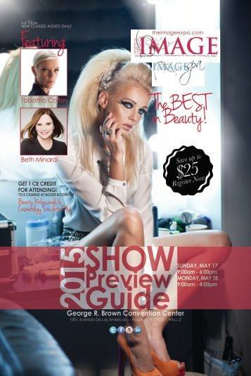 IMAGE Show Preview Guide Houston 2015