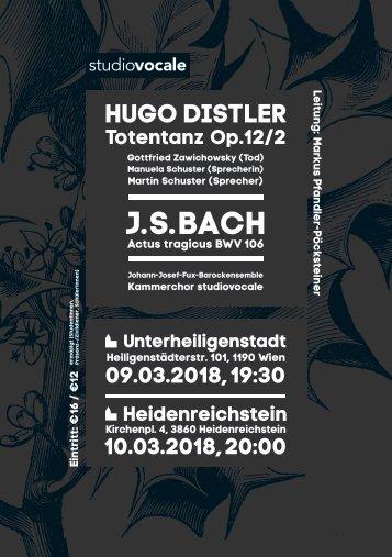 Plakat Totentanz Heidenreichstein