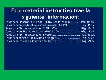 Instrucciones para la REVISTA DIGITAL Psicolinguìstica CUC marzo 2018 1