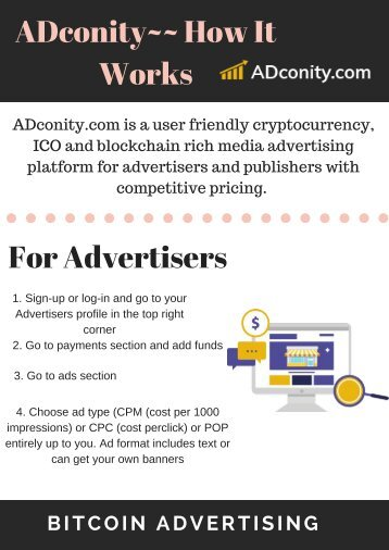 ADconity for Advertiser and Publisher