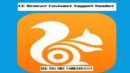 UC Browser Customer Support Number 18002402551