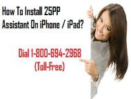 1-800-694-2968 How To Install 25PP Assistant On iPhone / iPad?