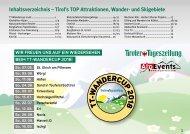 GAS_K_AlpEvents_TMK2018_1117_Tourismus_ES - Inhaltsverzeichniss