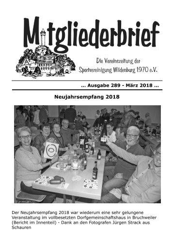 Ausgabe 289 -März 2018