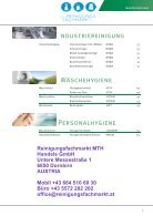 TANA Produktkatalog powered by Reinigungsfachmarkt - Page 7