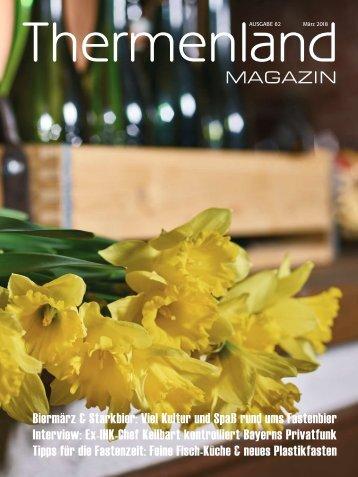 Thermenland Magazin, März 2018