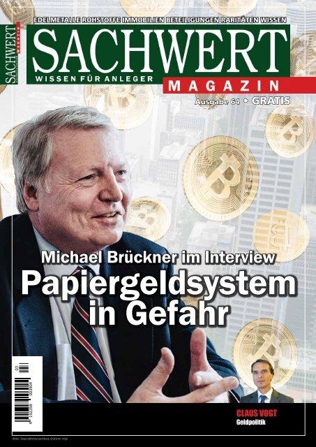 Sachwert Magazin Ausgabe 64, Februar 2018