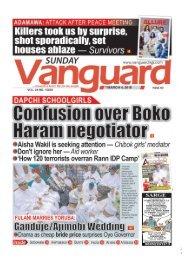 04032018 - DAPCHI SCHOOL GIRLS: Confusion over Boko haram negotiator