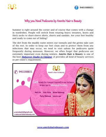 Why you Need Pedicures by Amrits Hair n Beauty