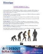 Vivre Debout Dossier de presse 2 flip - Page 2