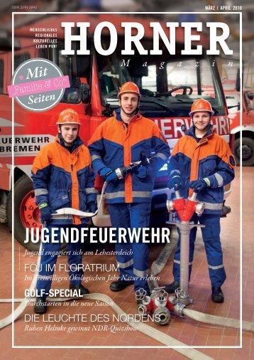 HORNER Magazin | März-April 2018