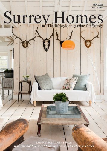 Surrey Homes   SH41   March 2018   Fashion supplement inside