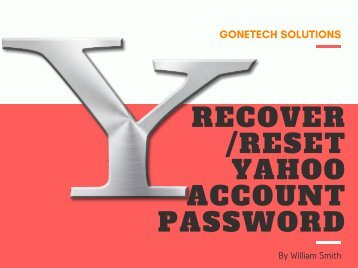 How To Reset Or Recover Yahoo Account Password - 2018 | You should Not Miss!!!